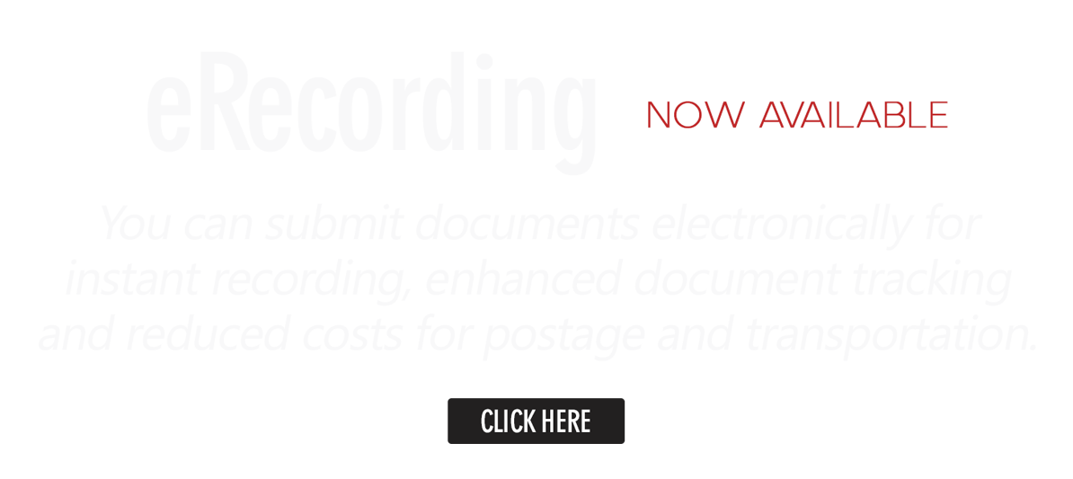 eRecording Now Available